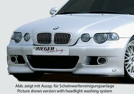BMW E46 Компакт Передний бампер в стиле M3