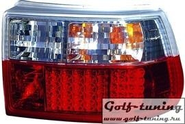 Opel Astra F Hatchback Фонари светодиодные, красно-белые