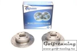 Ford Escort III+ IV/Escort Express/Orion Комплект спортивных тормозных дисков