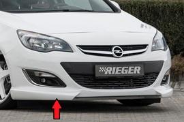 Opel Astra J 12-15 Накладка на передний бампер