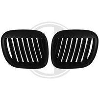 BMW Z3 96-02 Решетки радиатора (ноздри) черные