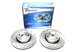 Toyota Avensis Комплект спортивных тормозных дисков