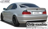 BMW E46 Дифузор U-Diff