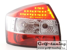 Audi A4 B6 01-04 Седан Фонари светодиодные, красные