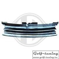 VW Golf 4 Решетка радиатора без значка хром