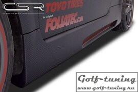 "Audi TT Typ 8N 98-06 Накладки на пороги X-Line ""SE"""