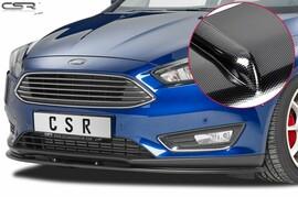 Ford Focus 3 14- Накладка на передний бампер cupspoilerlippe carbon look