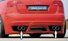 Audi A3 8P 5D Sportback Глушитель rieger typ16