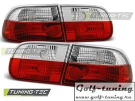 Honda Civic 91-95 3D Фонари красно-белые