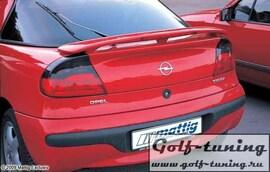 Opel Tigra 94-00 Спойлер на крышку багажника с стоп сигналом