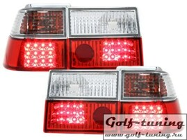VW Corrado Фонари светодиодные, красно-белые
