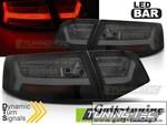 Audi A6 4F 08-11 Седан Фонари светодиодные Led bar design черные