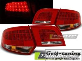 Audi A3 8P 04-08 Sportback Фонари светодиодные, красно-белые