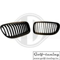 BMW E90 08-11 Решетки радиатора (ноздри) черные