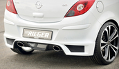 Opel Corsa D 1.0l/1.2l/1.3l/1.4l/1.7l Глушитель rieger typ 32