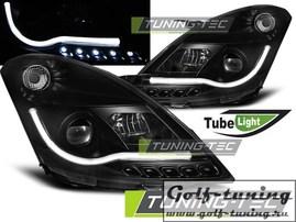 Suzuki Swift 10-13 Фары Tube lights черные