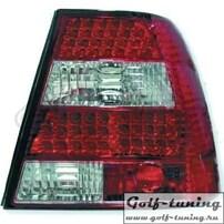 VW Bora Фонари светодиодные, красно-белые