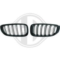 BMW F34 13- Решетки радиатора (ноздри) M матовые