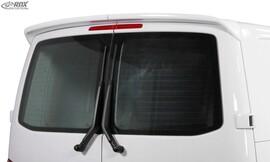 VW T6 15-19 Спойлер на крышку багажника для авто с распашными дверьми