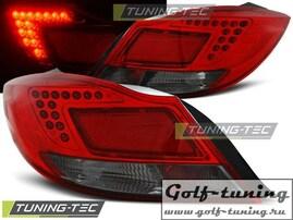 Opel Insignia 08-12 4D Hatchback Фонари светодиодные, красно-тонированные