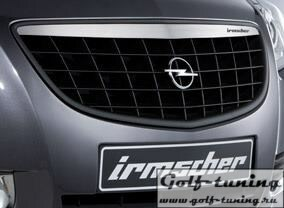 Opel Insignia 08-13 Решетка радиатора с хром полосой