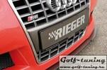 Сплиттер для переднего бампера Rieger audi a3 8l 56620/21/22/23/27/29/35/36/37 S3 Look