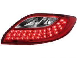 Mazda 2 07-10 Фонари светодиодные красно-белые