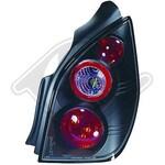 Citroen C2 03-08 Фонари черные