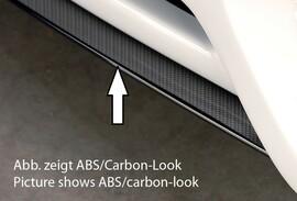 Накладка для спойлера переднего бампера Rieger 00055411 Carbon Look