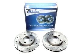 Ford Scorpio Комплект спортивных тормозных дисков