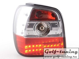 VW Polo 6N 94-99 Фонари светодиодные, красно-белые