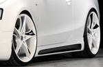 Audi A5/S5 B8/B81 07-16 Sportback Накладки на пороги carbon look