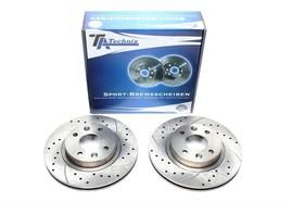 Renault Espace I/Espace II/Fuego/R18/R25 Комплект спортивных тормозных дисков