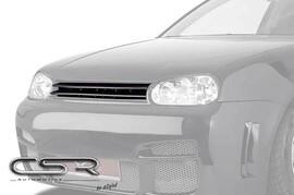 VW Golf 4 Решетка радиатора без значка