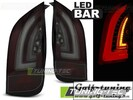 VW UP! 11- / Skoda Citigo 11- Фонари в стиле Led Bar красно-тонированные