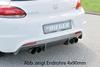 VW Scirocco 08- Глушитель 4x80mm