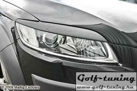 Audi Q7 05- Ресницы на фары