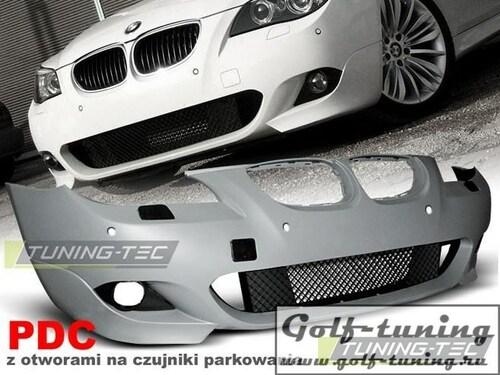 BMW E60 07-10 Бампер передний M-Technik Look