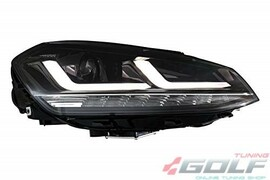 VW Golf 7 12-17 Фары LEDriving Xenarc upgrade xenon черные