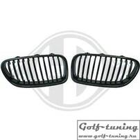 BMW F10/F11 10-13 Решетки радиатора (ноздри) carbon look