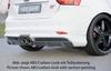 Ford Focus ST 11-14 Накладка на задний бампер