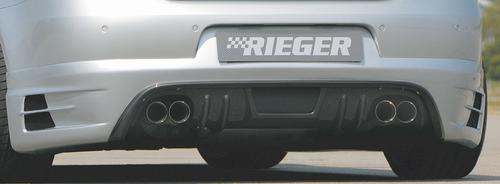VW Eos Глушитель rieger 4x76mm, type 24