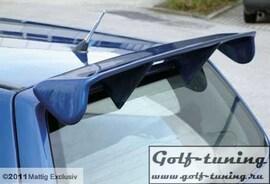 Opel Corsa D Спойлер на крышку багажника