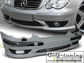 Mercedes W203 00-04 Бампер передний AMG Look