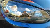 VW Golf 6 Фары в стиле GTI черные