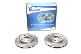 Chevrolet/Daewoo/Opel Комплект спортивных тормозных дисков