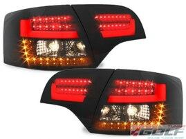 Audi A4 B7 04-08 Универсал Фонари светодиодные, красно-тонированные Litec design