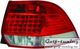 VW Golf 5 Универсал Фонари светодиодные, красно-белые