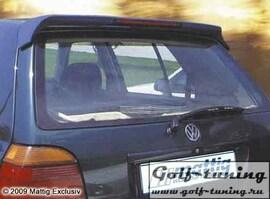 VW Golf 3 Спойлер на крышку багажника