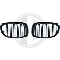 BMW F01 08-12 Решетки радиатора (ноздри) M look
